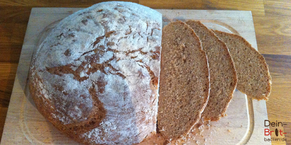 Brot backen dinkel