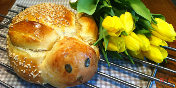 Osterbrot Dicker Hase